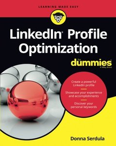 LinkedIn Profile Optimization For Dummies-cover