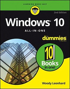 Windows 10 All-In-One For Dummies-cover