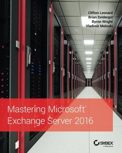 Mastering Microsoft Exchange Server 2016 (Paperback)-cover