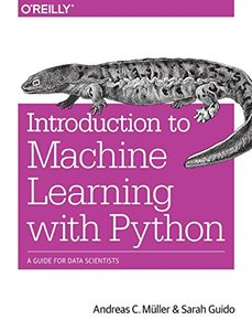 Introduction to Machine Learning with Python: A Guide for Data Scientists (Paperback)-cover