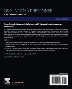 OS X Incident Response: Scripting and Analysis-cover