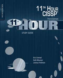Eleventh Hour CISSP: Study Guide, 3/e (Paperback)-cover