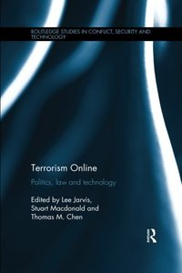 Terrorism Online: Politics, Law and Technology-cover