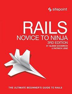 Rails: Novice to Ninja 3/e-cover