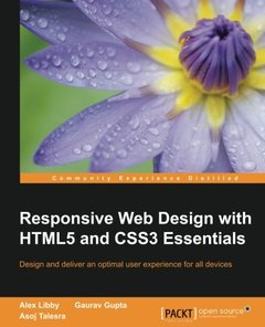 Responsive Web Design with HTML5 and CSS3 Essentials-cover