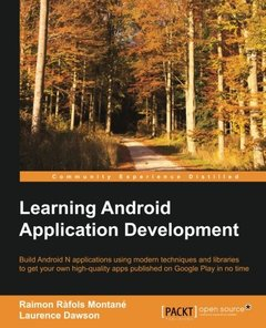 Learning Android Application Development-cover