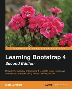 Learning Bootstrap 4 - Second Edition-cover