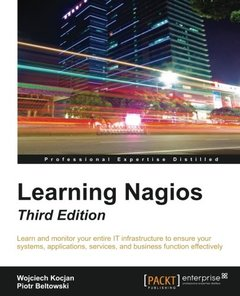 Learning Nagios - Third Edition-cover