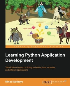 Learning Python Application Development-cover