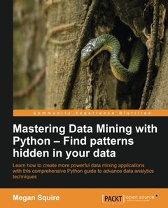 Mastering Data Mining with Python-cover
