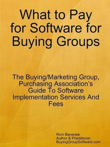 What to Pay for Software for Buying Groups