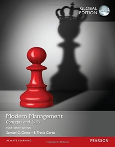 Modern Management: Concepts and Skills, 14/e (IE-Paperback)-cover