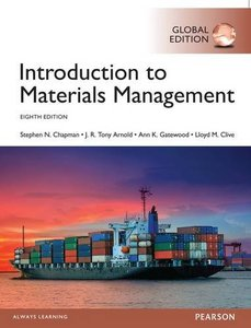 Introduction to Materials Management (Paperback)-cover