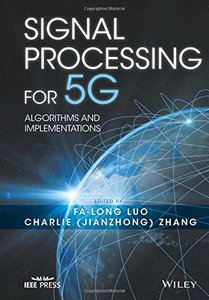Signal Processing for 5G: Algorithms and Implementations (Hardcover)-cover