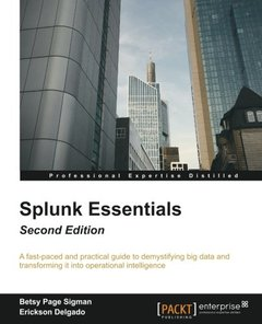 Splunk Essentials - Second Edition-cover