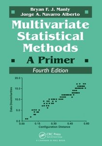 Multivariate Statistical Methods: A Primer,( 4/e) (paper)-cover