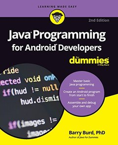 Java Programming for Android Developers For Dummies 2/e (Paperback)-cover
