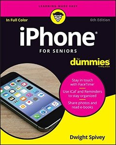 iPhone For Seniors For Dummies6/e-cover
