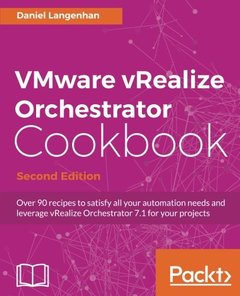 VMware vRealize Orchestrator Cookbook - Second Edition-cover