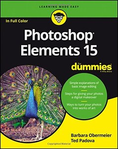 Photoshop Elements 15 For Dummies-cover