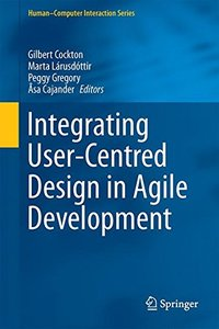 Integrating User-Centred Design in Agile Development (Human-Computer Interaction Series)-cover