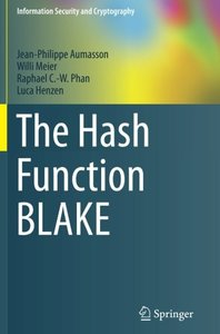 The Hash Function BLAKE (Information Security and Cryptography)-cover