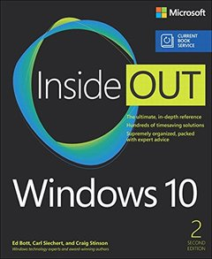 Windows 10 Inside Out (includes Current Book Service) (2nd Edition)-cover