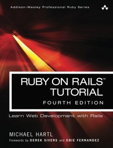 Ruby on Rails Tutorial 4/e-cover