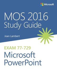 MOS 2016 Study Guide for Microsoft PowerPoint (MOS Study Guide)-cover
