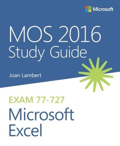 MOS 2016 Study Guide for Microsoft Excel (MOS Study Guide)-cover