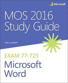 MOS 2016 Study Guide for Microsoft Word (MOS Study Guide)-cover