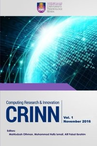 Computing Research & Innovation (Crinn), Vol.1, November 2016-cover