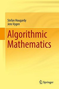 Algorithmic Mathematics-cover