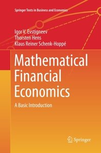 Mathematical Financial Economics: A Basic Introduction (Springer Texts in Business and Economics)-cover