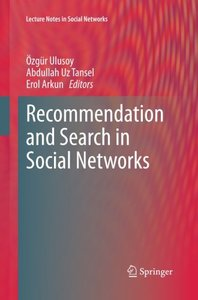 Recommendation and Search in Social Networks (Lecture Notes in Social Networks)-cover