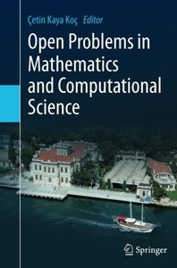 Open Problems in Mathematics and Computational Science-cover