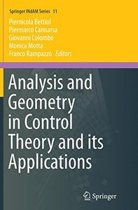 Analysis and Geometry in Control Theory and its Applications (Springer Indam)-cover