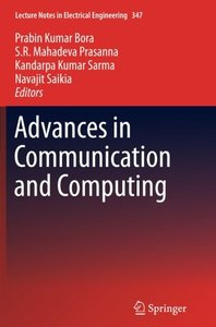Advances in Communication and Computing (Lecture Notes in Electrical Engineering)-cover