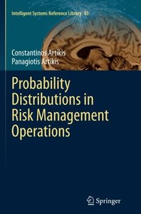 Probability Distributions in Risk Management Operations (Intelligent Systems Reference Library)-cover