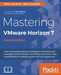 Mastering VMware Horizon 7 - Second Edition-cover