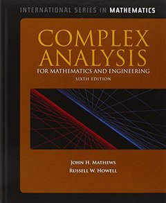 Complex Analysis For Mathematics And Engineering, 6/e (IE-Paperback)-cover