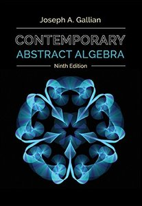 Contemporary Abstract Algebra, 9/e (Hardcover)-cover