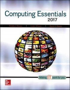 Computing Essentials 2017 (Complete Edition)(Paperback)-cover