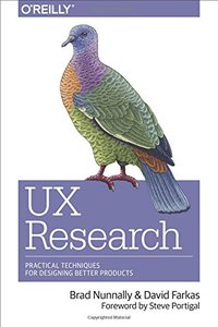 UX Research: Practical Techniques for Designing Better Products-cover