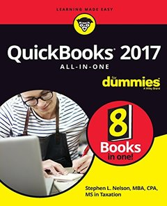 QuickBooks 2017 All-In-One For Dummies-cover