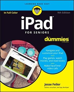 iPad For Seniors For Dummies (For Dummies (Computer/Tech))9/e-cover