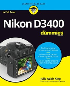 Nikon D3400 For Dummies (For Dummies (Computer/Tech))-cover