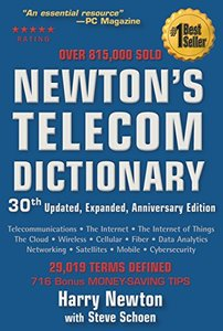 Newton's Telecom Dictionary, 30/e (Paperback)-cover