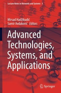 Advanced Technologies, Systems, and Applications (Lecture Notes in Networks and Systems)-cover