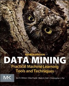 Data Mining : Practical Machine Learning Tools and Techniques, 4/e (Paperback)-cover
